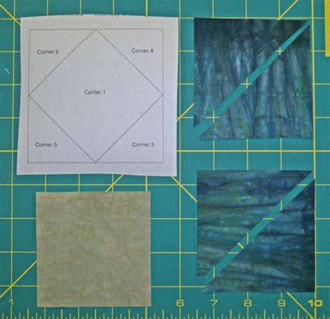 Square In A Square Quilt Block Pattern by Square In A Square Quilt Block