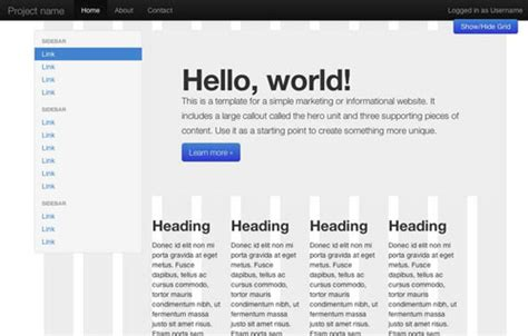 bootstrap layout plugin 20 most effective bootstrap extensions and plugins