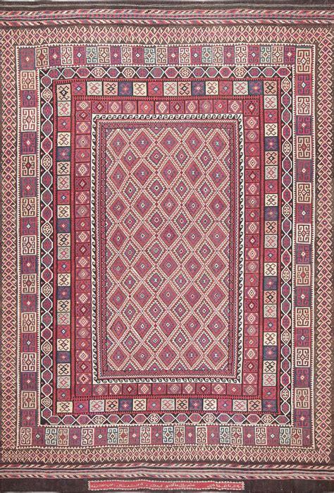 cheap tribal rugs large vintage kilim carpet for sale at 1stdibs