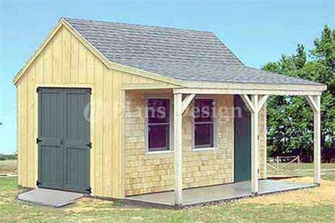 cottage cabin shed  porch plans  ebay