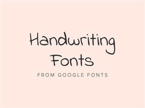 best free handwriting fonts from fonts 2018