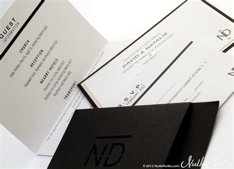 bespoke wedding invitations modern wedding style nulki nulks