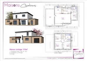 plan 110 m2 etage