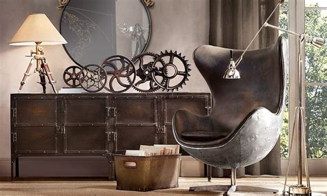 Living Room Decor Ideas adopt the unconventional steampunk decor in your home