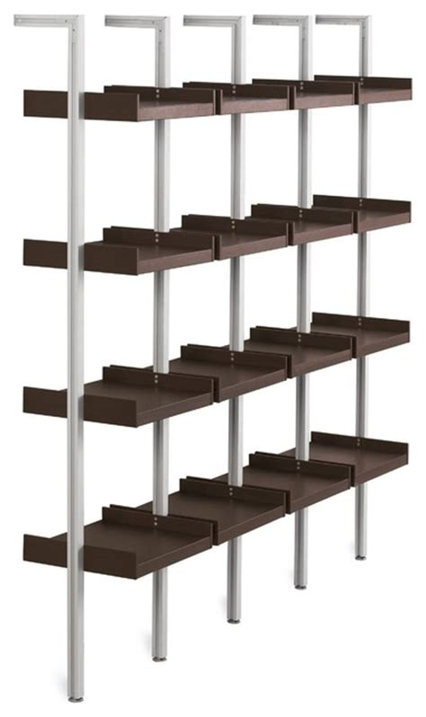 modular wall shelves treku modular shelving modern display and wall shelves