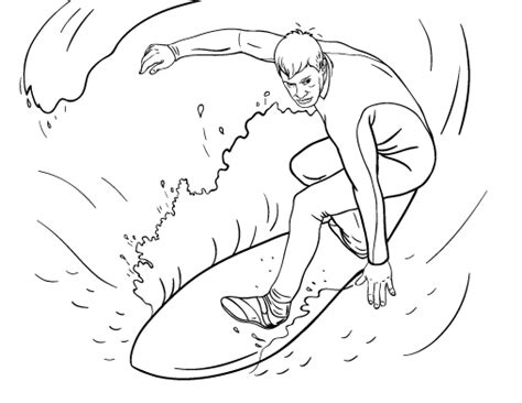 surfer coloring pages printable surfer coloring page free pdf download at http