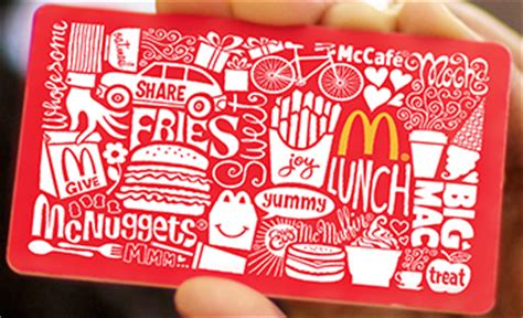 Mcdonalds Gift Card Purchase - 300 in coupons from mcdonald s with arch card purchase coupon crazy girl