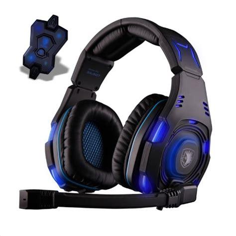 Sades Sades A9 Blue Led Gaming Headset 1 sades usb 7 1 sound track surround gaming headset blue led