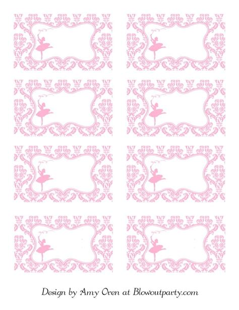 printable ballerina birthday invitations 89 best images about ballerina birthday party on pinterest