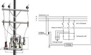 distribution capacitor wiring