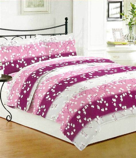 bombay dyeing bed sheets bombay dyeing cotton double bed sheet with 2 pillow covers