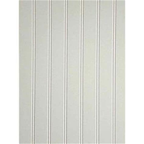 Wainscoting Sheets Home Depot 10 Sq Ft White Mdf Beaded Wainscot Panel 739557 The