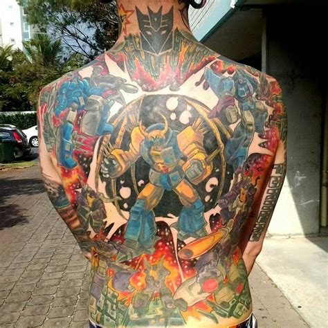 transformer tattoo tattoos pinterest