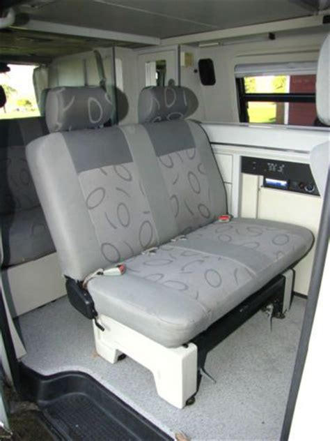 rv bench seat buy used 2001 eurovan full cer westfalia a c center