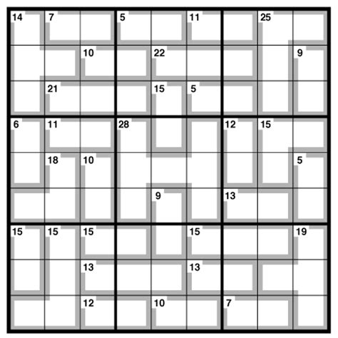 printable daily killer sudoku number fill it in puzzles printable