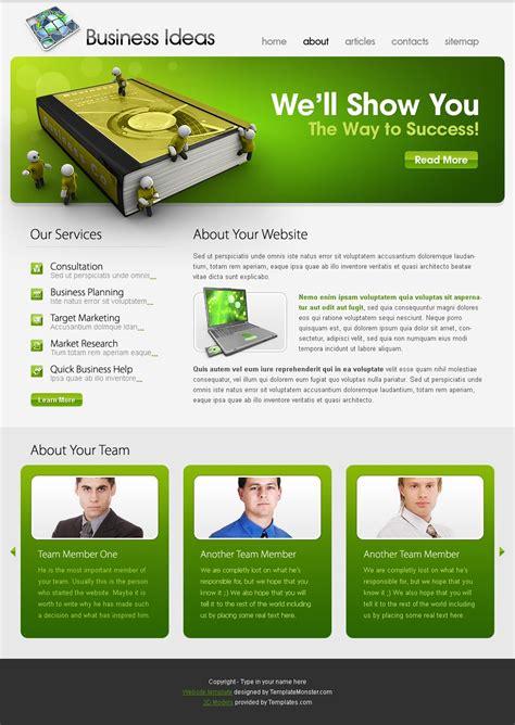 website template business ideas