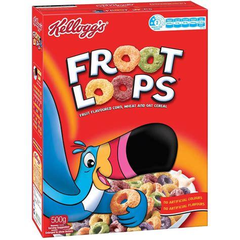 fruit loops kellogg s froot loops 500g woolworths