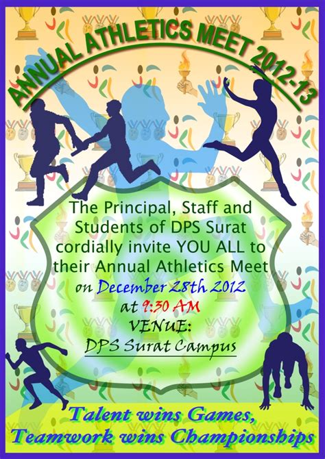 Invitation Letter For Sports Meet Athletic Meet 2012 13 Dpss9d