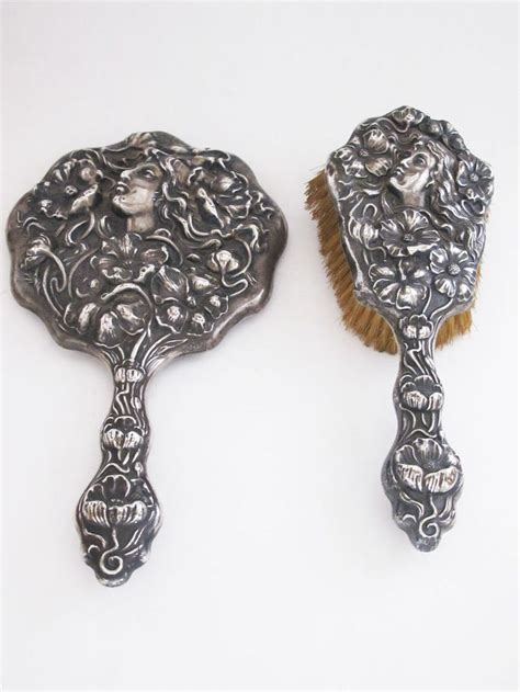 Antique Silver Vanity Set by 17 Best Images About Antique Silver Vanity Sets On
