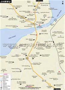 cities map jammu city map
