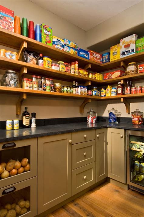 Pantry Layout by Large Walk In Pantry Design Studio Design Gallery
