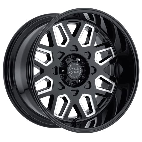 wheels truck predator truck rims by black rhino