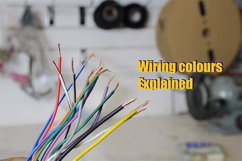 stereo wiring colours explained unit wiring