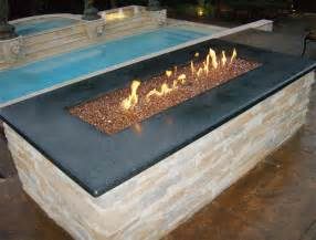outdoor glass pit copper reflective pit glass 60 lb