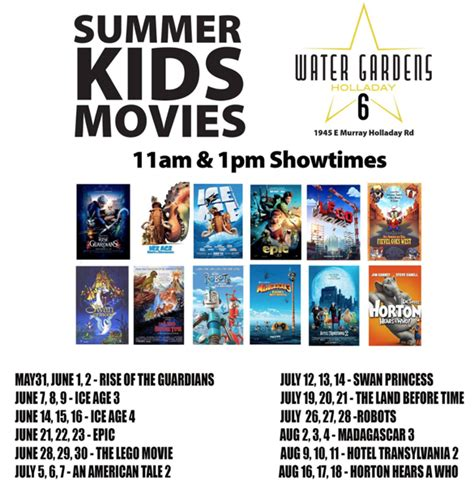 Water Gardens Theater Pleasant Grove by Summer Theaters In Utah Coupons 4 Utah