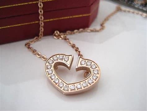 gold diamond heart  cartier diamond heart