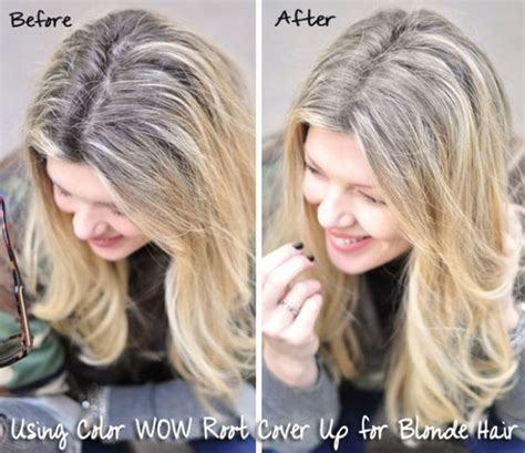 frosting your hair roots color wow root cover up before and after wow news
