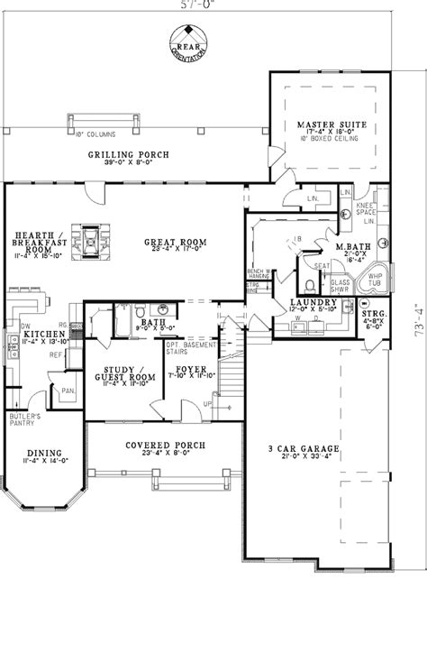 Shingle Style Floor Plans by Northmoor Shingle Style Home Plan 055d 0343 House Plans