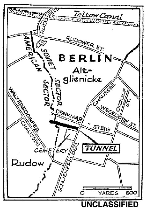 A Look Back The Berlin Tunnel: Exposed — Central