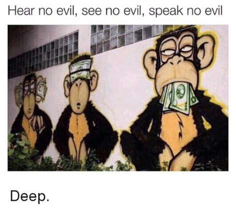 hear no evil see no evil speak no evil tattoo 25 best memes about hear no evil see no evil hear no