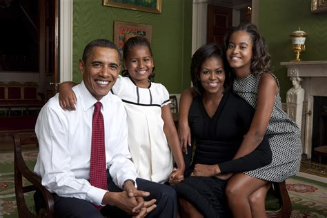 Obama First Family by Official Obama Family Portrait Barack Obama Photo