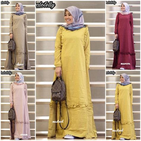 jual baju maxi murah jual baju hijab gladis maxi grosir baju muslim pakaian