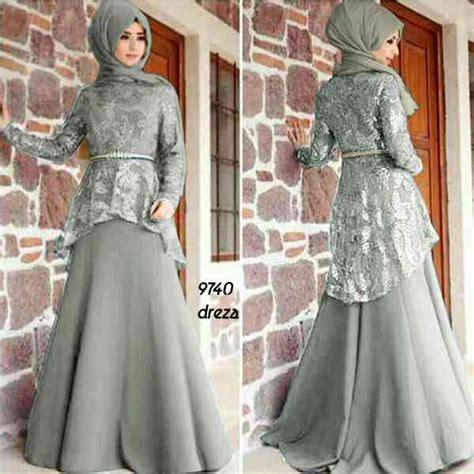 Model Gamis U Pesta gamis pesta brokat mewah yang baru dan baju gamis pesta