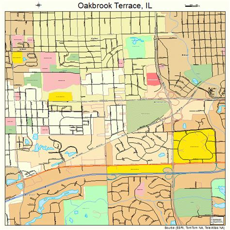 oakbrook mall map map of oakbrook terrace il like success
