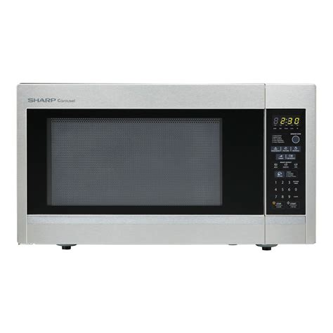 Sharp Microwave Ovens Countertop by Sharp R551zs Carousel 1 8 Cu Ft 1100w Countertop