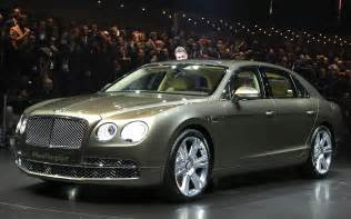 At Bentley Bentley Flying Spur Debuts At Geneva Is Most Powerful