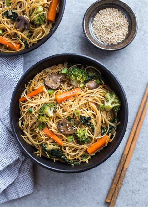 vegetables lo mein easy winter vegetable lo mein thyme for health
