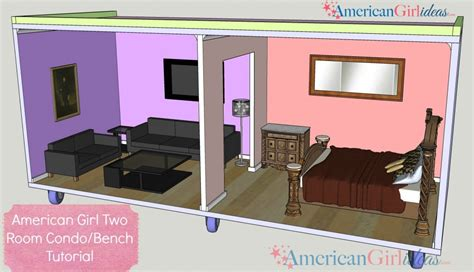 how to build american girl doll house american girl dollhouse bench american girl ideas american girl ideas
