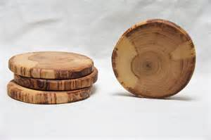 Wooden Room Dividers Cream And Tan Natural Wood Coasters By The Woodlot