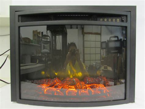 rv electric fireplace insert mheater led rv electric fireplace ef 30b