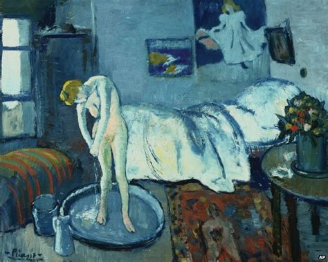 the blue room painting painting found picasso s the blue room news