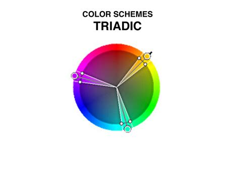 triadic color scheme art quill studio color schemes 1 2 art resourcemarie