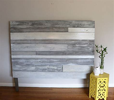 white wood headboard pallet headboard white grey pallet headboard wood