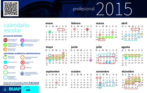 Calendario Escolar 2015 Mexico Buap Emite Calendario Escolar 2015 En Vivo Mx