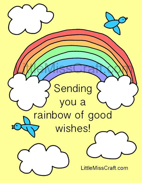 printable free get well cards get well cards coloring pages