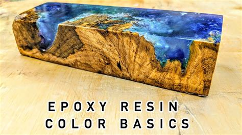 how to color resin epoxy resin color basics tutorial